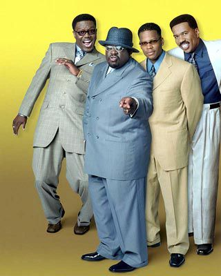 Bernie Mac, Cedric The Entertainer, DL Hughley and Steve Harvey -The Kings Of Comedy
