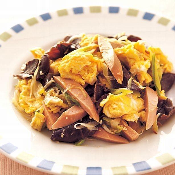 懐かし食材で時短レシピ!「ソーセージとねぎの中華風卵炒め」 - Yahoo! BEAUTY