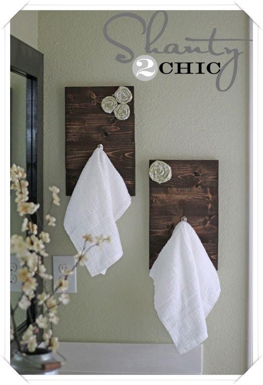 Oltre 20 migliori idee su porta asciugamani su pinterest - Idee per porta asciugamani ...