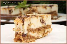 El jardín de mis recetas: TARTA DE CHOCOLATE BLANCO
