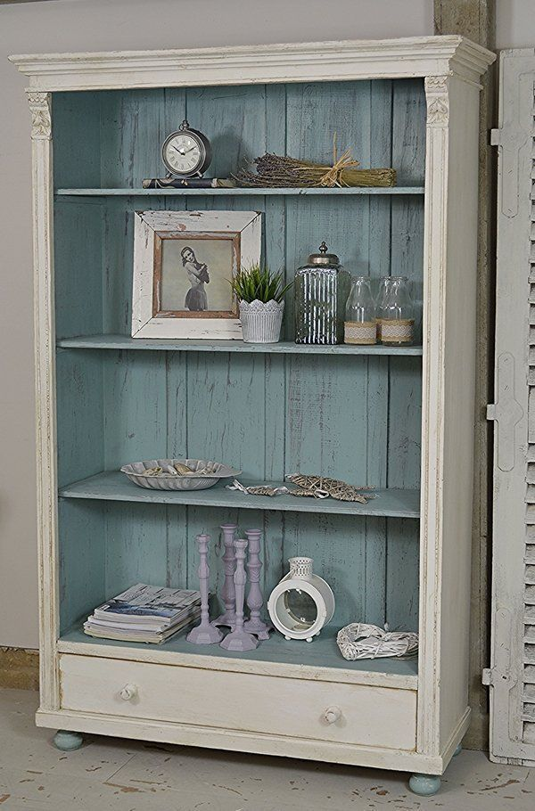 Rustic Shabby Chic Dutch Bookcase artwork #shabbychicbedroomsrustic