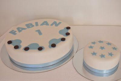 Bara fika: 1 års tårta