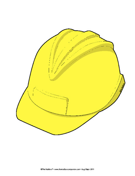 Hard Hat Free Printable