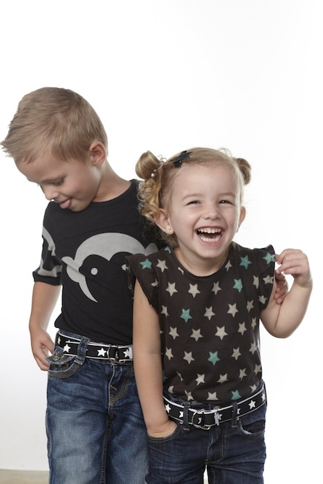 Buckled Belt Black and White Star, Perfect for boy or girl! $16.00