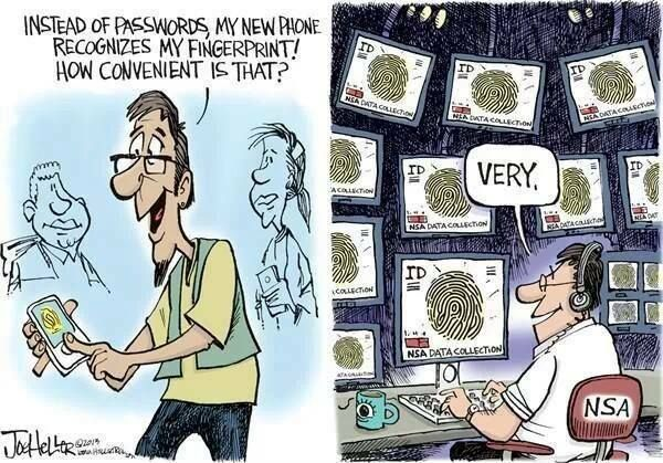 Instead of passwords my new phone recognize my fingerprint! | Anonymous ART of Revolution