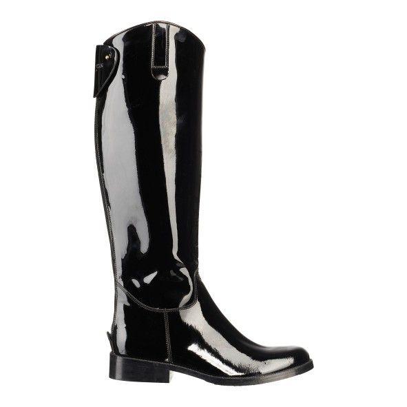 Patent leather boot - Ilse Jacobsen, Hornbæk, Denmark
