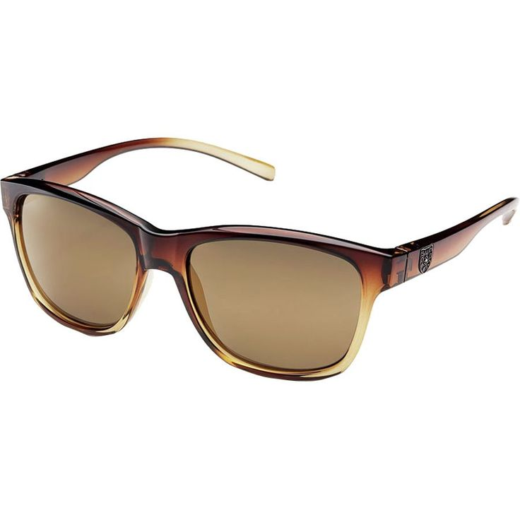 Suncloud Polarized Optics - Pageant Sunglasses - Polarized - Women's - Brown Fade/Sienna Mirror Polarized Polycarbonate