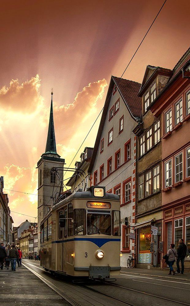 Erfurt City, Thuringia, Germany | by Ronny Welscher