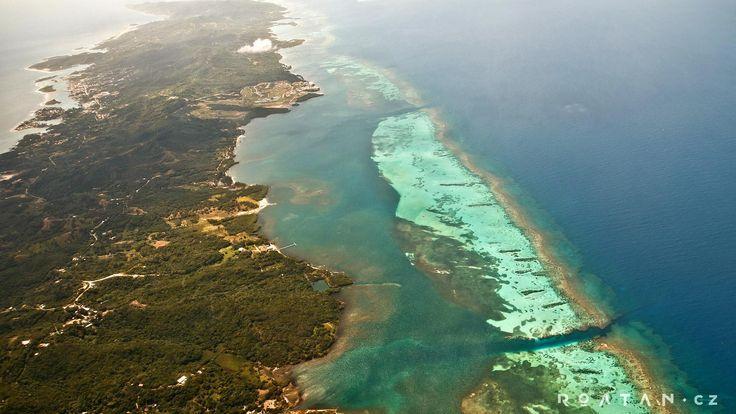 Ostrov Roatán - Karibské moře