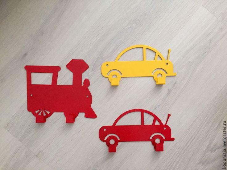 """Hanger for children's """"Car""""/""""Train"""" - children's hanger, clothes hanger, hanger for children's hanger for keys. (Вешалка для детской """"Машинка""""/""""Паровозик"""" - детская вешалка, вешалка для одежды, вешалка для детской, вешалка для ключей)"""