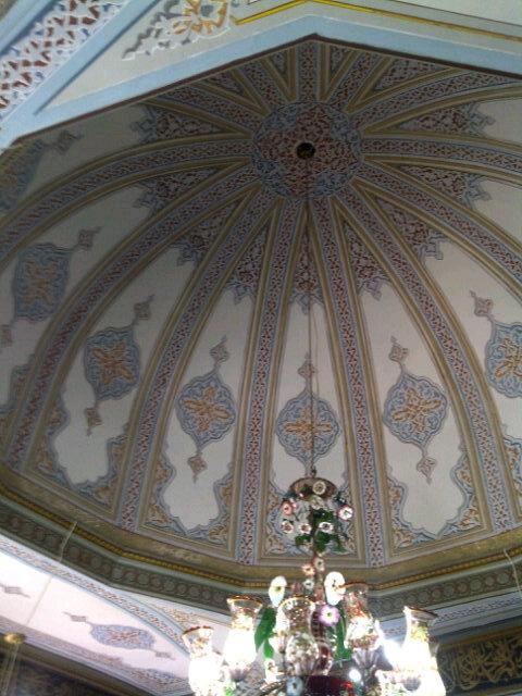 The Ceiling of Aziz Mahmut Hudayi's Tomb