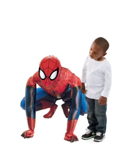 Personalized Happy Birthday Spiderman Balloon 23in x 33in - Party City