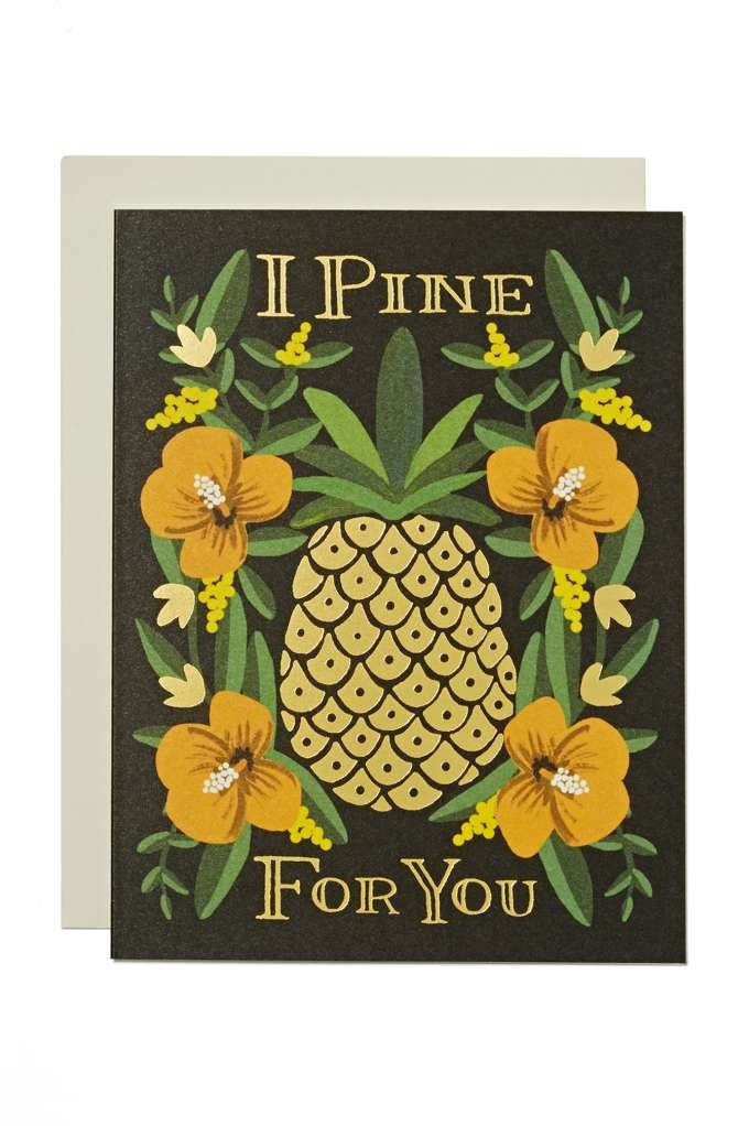 Rifle Paper Co. I Pine For You Card