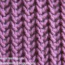 79) Ponto De Tricô A Mão - Lace Knitting Patterns - Free Knitting Tutorials - Watch Knitting- pattern 20 - Fish Thorn - Espinha De Peixe