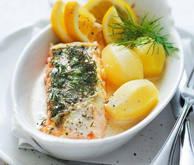 Recept: Lax i ugn allt detta så man kan laga! Ica-Maxi mat för 30 000 kr -uppåt!!! är vad vi skulle behöva!