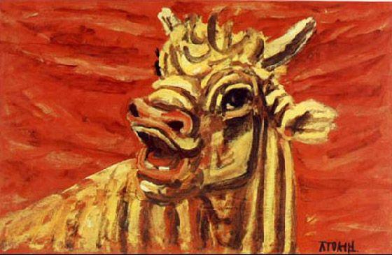 이중섭 - 소(Bull)