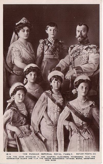 The Romanov family of Russia. I'm obsessed with this family and their story for some reason. <-----same. But I know why. The children's movie Anastasia.