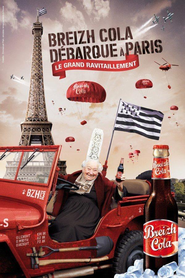 Tremble Monde moderne ! Le @BreizhCola_ débarque à Paris ! Breiz Atao ! note d'erminig: existe à la stévia; un régal!