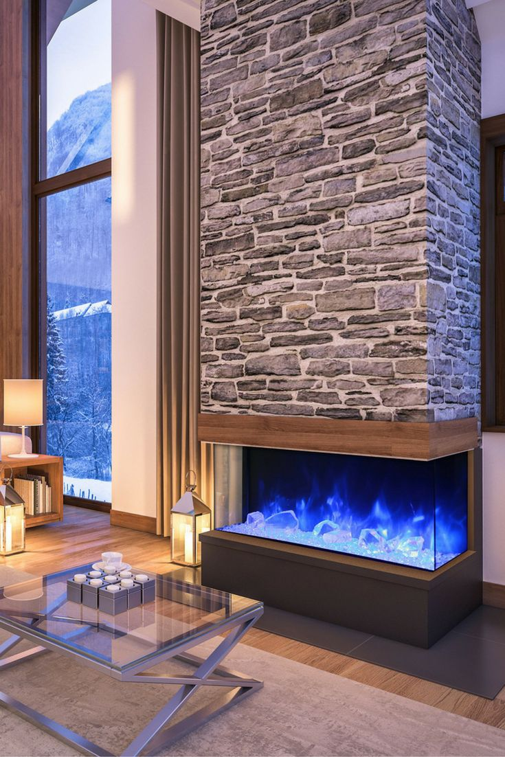 Modern Fireplaces   No Chimney Fireplaces 387  ...
