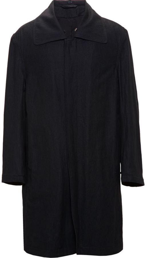 Ann Demeulemeester contemporary overcoat