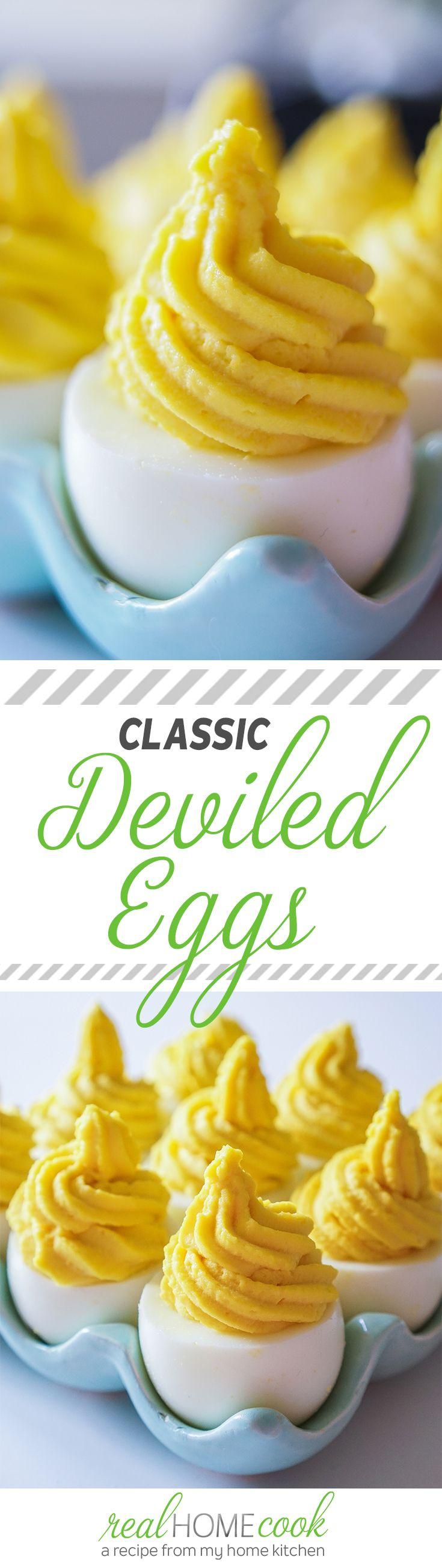 The perfect Classic Deviled Eggs | Appetizer Recipe