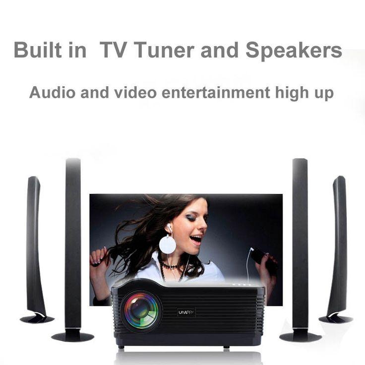 UHAPPY U2 WIFI Android4.4 1080P HD LED Projector 3D 3000 Lumens 1280x768 Smart Beamer Home Cinema