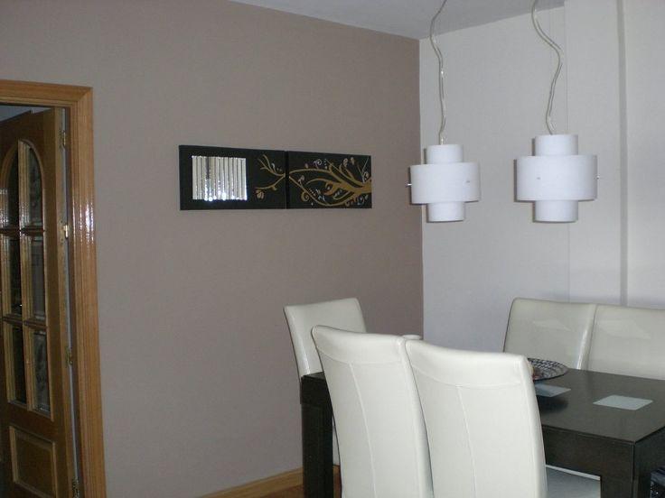 Paredes con pintura color marrón , beige, arena, etc   Decorar tu casa es facilisimo.com