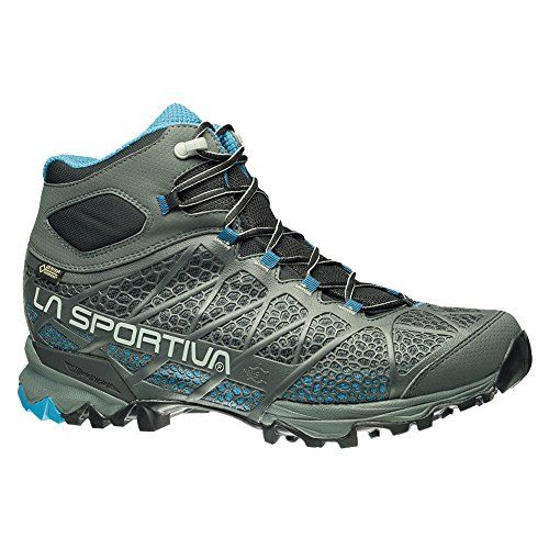La Sportiva Core High GTX Mountaineering Hiking Boot for Men Carbon  Blue 40 M EU * Read more reviews of the product by visiting the link on the image.
