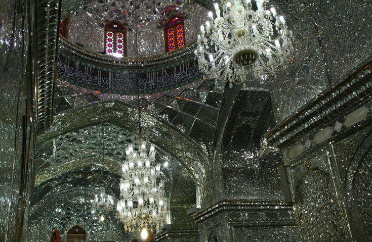 Зеркальный мавзолей Шах Черах (Иран)