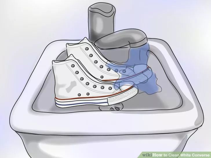 Image titled Clean White Converse Step 12