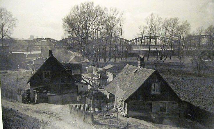 Rok 1936. W tym miejscu stoi teraz Stadion Narodowy.   Fot. Muzeumpragi.pl