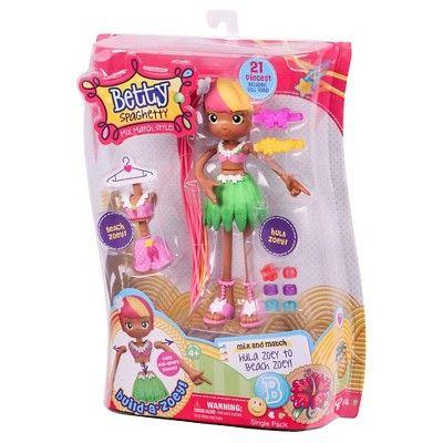 Betty Spaghetty Doll - Tropical Holiday Zoey