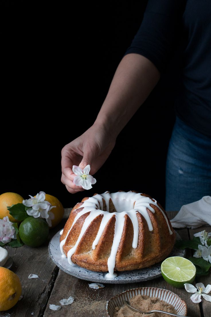 Vegan lemon drizzle cake recipe - The Little Plantation Blog