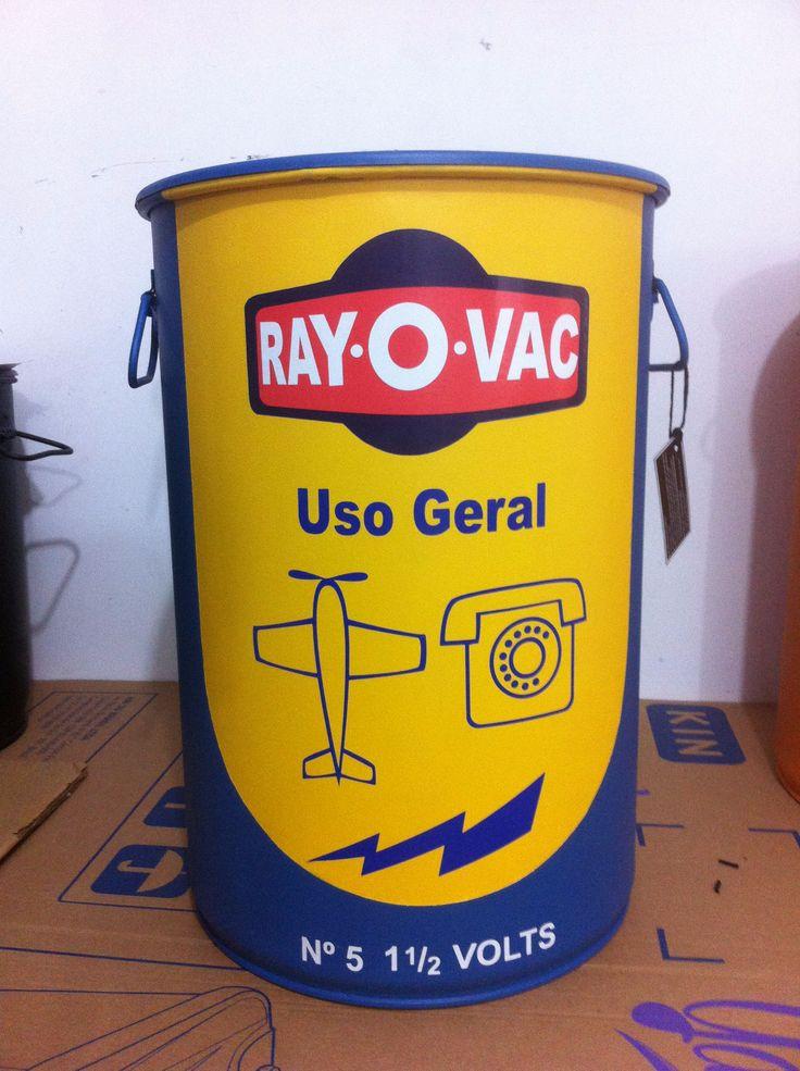 Rayo Vac -Tampa removível -Alças - M