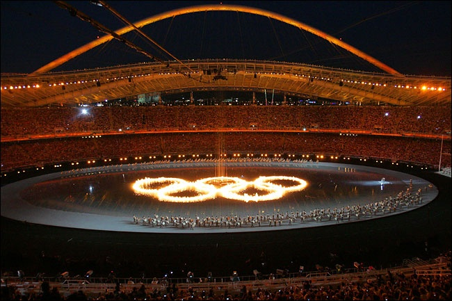 Opening Ceremony at the 2004 Athens Olympics