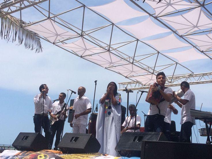 . El concierto fue organizado por la directora de la Oficina Operativa de Cultura de La Guajira, Vicenta Siosi Pino.     .Tres grupos inter...