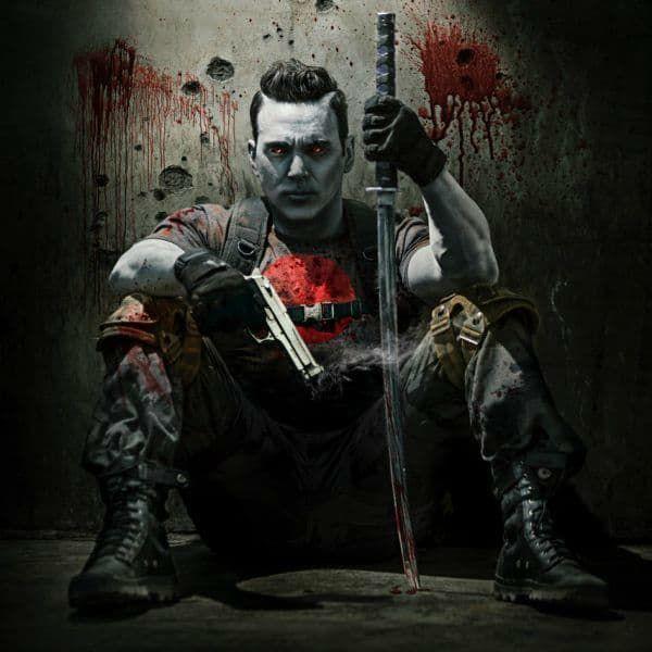 Jason David Frank as Bloodshot in 'Ninjak Vs. The Valiant Universe.' (via Valiant Entertainment)