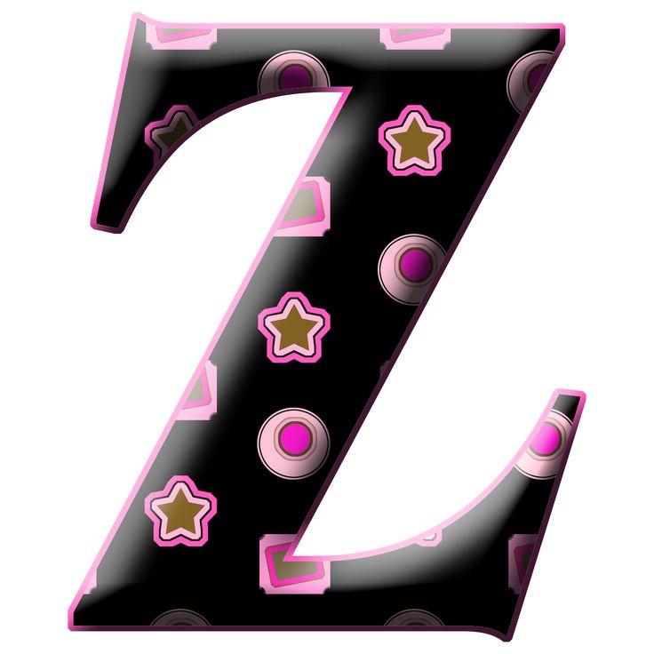 54 mejores im genes sobre letra z min scula z may scula - Letras decorativas para habitaciones infantiles ...