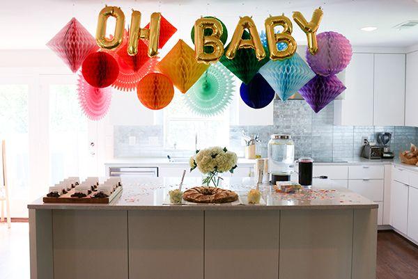 Oh Baby Rainbow Balloons