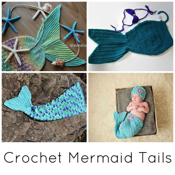 Crochet mermaid tail, Crochet mermaid and Crochet mermaid tail pattern ...