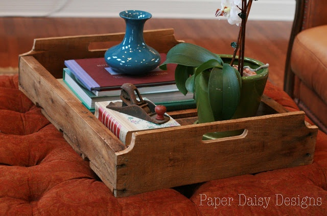 How to build a Pallet Tray,  v2.0. Paper Daisy Designs