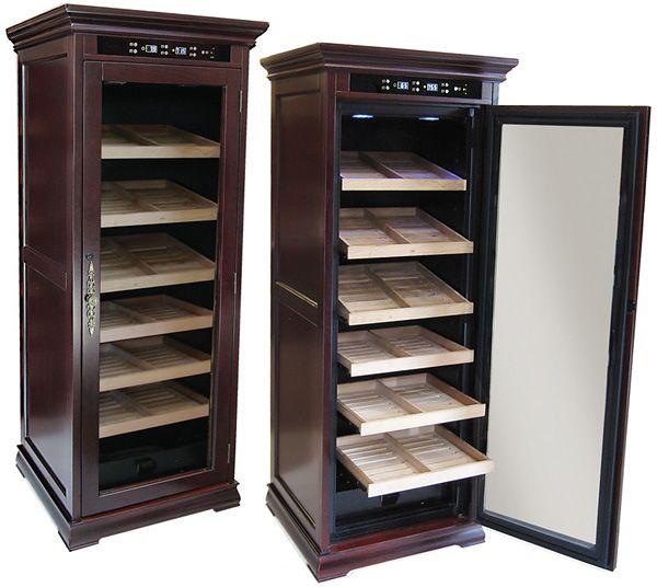 The Remington Electric Cigar Cabinet Humidor
