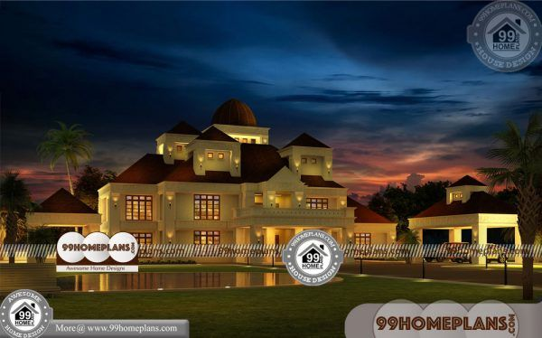 Bungalow Style House Photos with 3D Elevations Cheap 500+ Designs
