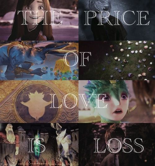 The price of love is loss. #rotg #riseoftheguardians #jackfrost