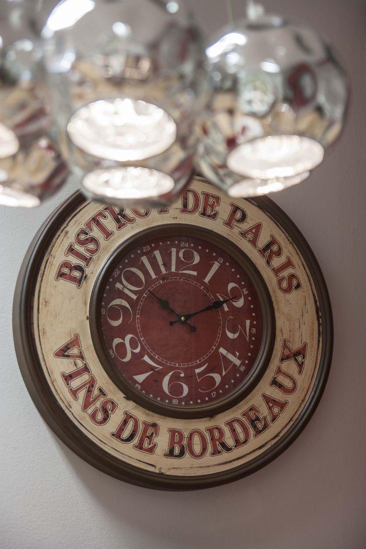 Wall Clock #HomeSweetHome #GreenApple #GAhomestyle #homestyle #WallClock #cozy #Iron