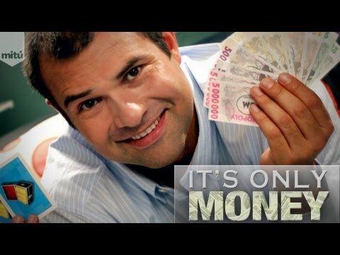 Мужик дает попсовые финансовые советы громадной аудитории латиноамериканской YouTube-сети Mitu (It's Only Money / Es Solo Dinero)