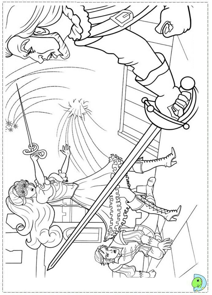Pin By Renata On Barbie Coloring