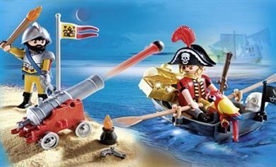 Playmobil Βαλιτσάκι Πειρατές (5894) 13,99