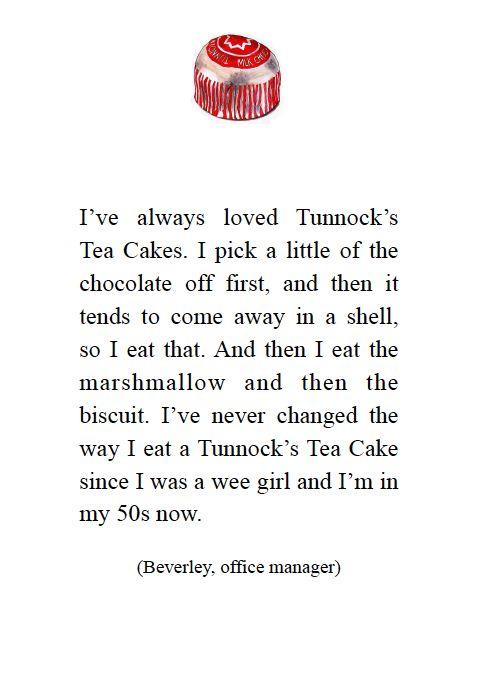 Tunnock's tea Cake love