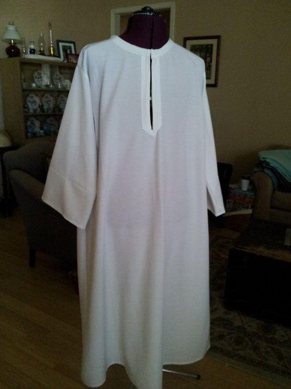 adult baptism clothes